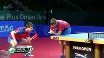 Lin Yun-Ju/Liao Cheng T. vs Denis I./Vladimir S.   2019 ITTF Challenge Oman Open Highlights (Final)