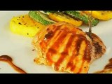 Watch recipe: Grilled Chicken with Vegetables and Brown Sauce