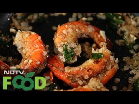 Watch recipe: Pickle Prawn Chilly