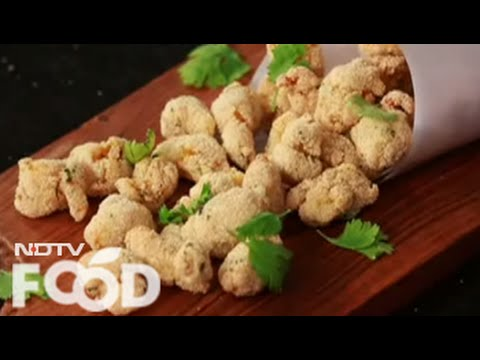 Watch recipe: Masala Prawn Popcorn