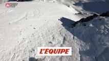 Le run gagnant de Marion Haerty en caméra embarquée à Verbier - Adrénaline - Snowboard freeride
