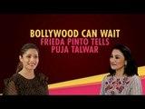 Freida Pinto On Mowgli and Bollywood Plans | Mowgli Film | Netflix