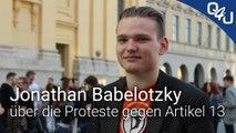 Jonathan Babelotzky spricht mit uns über die Proteste gegen #Artikel13 | QSO4YOU Tech