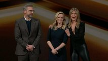 Steve Carell, Reese Witherspoon and Jennifer Aniston preview The Morning Show