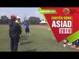 ĐT bóng đá nữ Việt Nam bước vào buổi tập thứ 3 tại Indonesia | VFF Channel