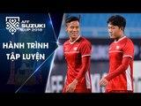 ĐT Việt Nam đón nhận tin vui trong buổi tập cuối cùng trước trận chung kết | VFF Channel