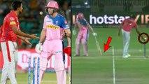 Jos Buttler's Unusual Run Out By Kings XI Punjab Skipper Ravichandran Ashwin