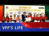 VPMILK tiếp tục trở thành nhà tài trợ Đội tuyển Quốc gia Việt Nam 2018   VFF Channel