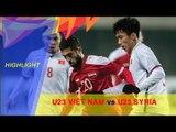 U23 Việt Nam giành vé vào tứ kết VCK U23 châu Á 2018 sau trận hòa U23 Syria