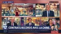 Contrats records avec la Chine