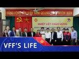 Chủ tịch VFF Lê Khánh Hải thăm và làm việc với bóng đá nữ Hà Nam | VFF Channel