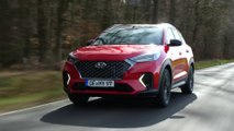 New Hyundai Tucson with N Line treatment Driving Video