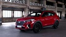New Hyundai Tucson with N Line treatment Exterior Design