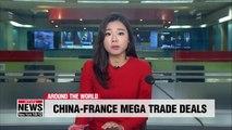 France, China sign mega trade deals as Xi Jinping meets Macron