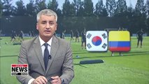 S. Korean national football team set for friendly clash with Colombia on Tuesday night