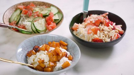 3 Super Easy Cottage Cheese Bowls