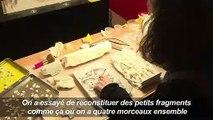 """""""Puzzle"""" hors norme pour restaurer l'Arc de Triomphe vandalisé"""