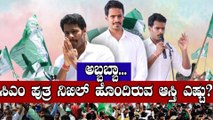 Lok Sabha Elections 2019 : ನಿಖಿಲ್ ಒಟ್ಟು ಆಸ್ತಿ ಎಷ್ಟು ಗೊತ್ತಾ?  | FILMIBEAT KANNADA