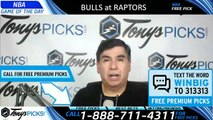 Chicago Bulls vs Toronto Raptors 3/26/2019 Picks Predictions