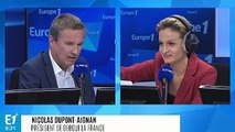 """Nicolas Dupont-Aignan : """"Les Français veulent reconstruire l'Europe sur des fondamentaux solides"""""""