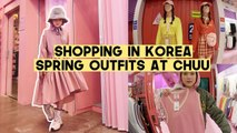 Shopping In Korea: Spring Outfits at Chuu (Singapore Innisfree Green Tea Seed Serum Event) | Q2HAN