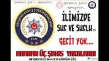 Nevşehir İl Emniyet Müdürlüğü – Asayiş Şube Müdürlüğü Aranan Şahıslar Büro Amirliği ekiplerimizce yapılan çalışmalar neticesinde