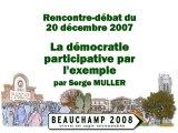 20071220 La démocratie participative par l'exemple