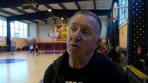 Jacky Bichard coach du MSB avant Martigues Lattes