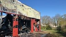 Un incendie s'est déclenché dans la nuit dans une ébénisterie au Sud de la ville
