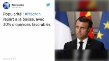 SONDAGE. Les cotes de popularité de Macron et Castaner en baisse.
