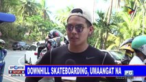 Downhill Skateboarding, umaangat na