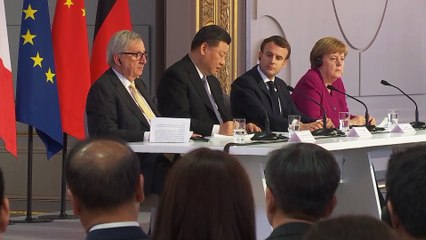Union européenne - Chine / Déclarations conjointes