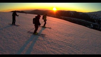 Adrénaline - Snowboard freeride : au coeur de l'Araucania, au Chili, avec Aurélien Routens dans Carpe Diem