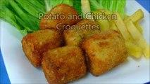 Chicken & Potato Croquette Recipe - Classic Potato Croquettes