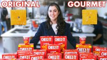 Pastry Chef Attempts to Make Gourmet Cheez-Its