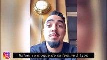 Rafael se moque de sa femme à Lyon, Karim Benzema passe de bonnes vacances