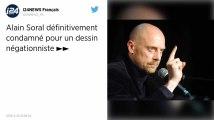 Dessin négationniste. Alain Soral définitivement condamné à 10000€ d'amende