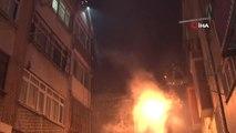 Fatih'te Gecekondu Yangını Paniğe Yol Açtı