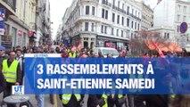 A la Une : L'ancien maire de Saint-Etienne, François Dubanchet est décédé / Un tweet met le feu aux poudres à Saint-Etienne / 3 manifestations prévues ce samedi / Les agents de la CAF de Saint-Etienne sont surchargés.
