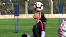 (Subtitled) PSG get ready for 'revenge' against Chelsea in the 2nd leg of UCL Women's quarter-final