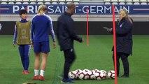Chelsea prepare for their UCL Women's quarter-final 2nd leg against PSG