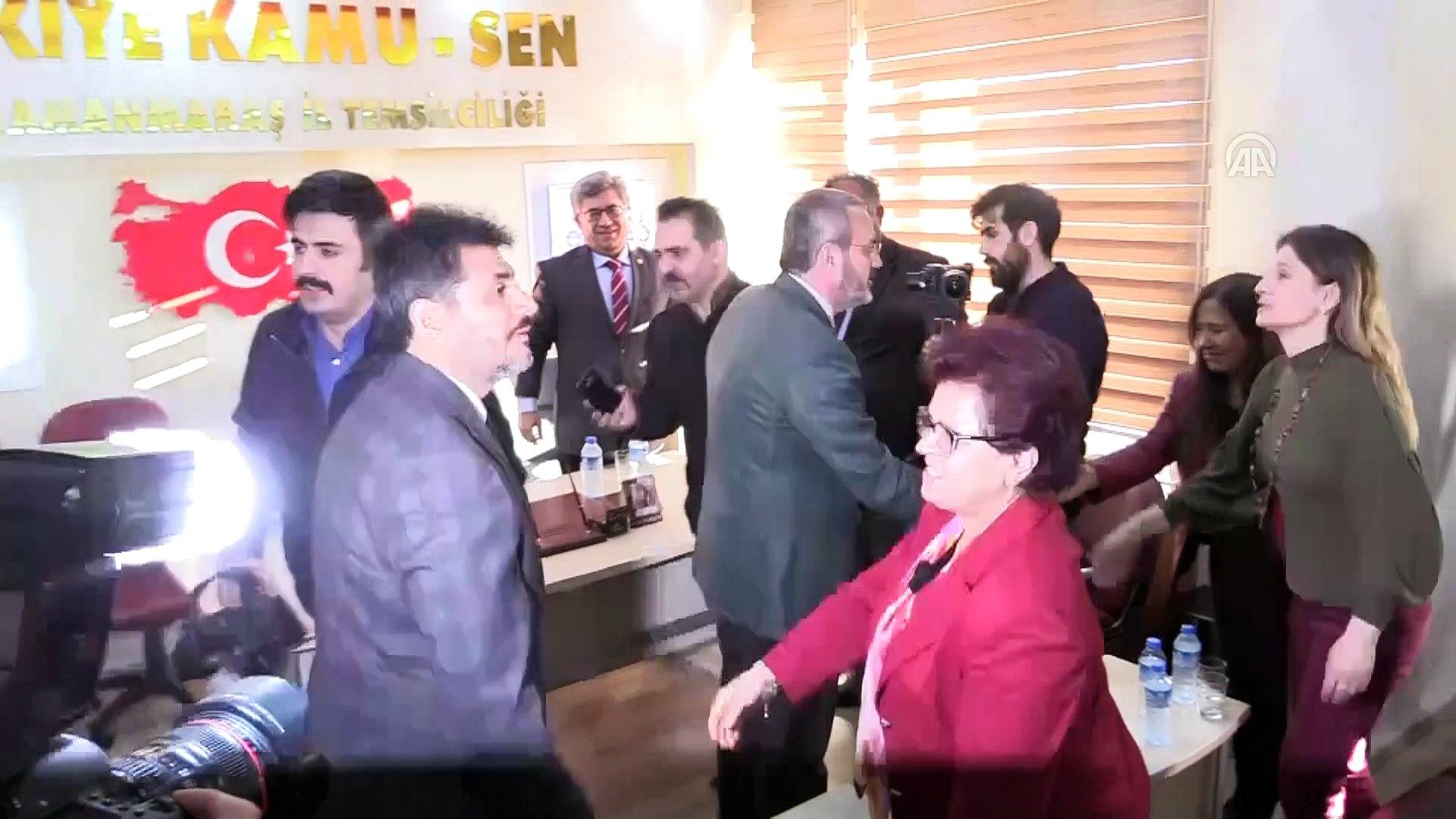 Mahir Ünal: 'İttifaklarını sakladılar ama HDP dayanamadı, ifşa etti' - KAHRAMANMARAŞ