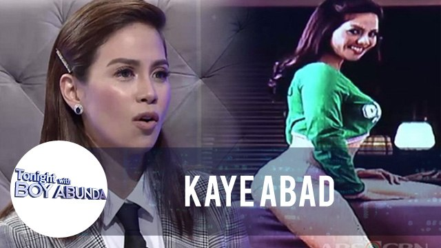 Kaye Abad reacts to her throwback photos | TWBA