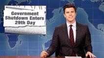 Weekend Update: Government Shutdown