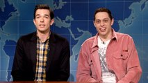 Weekend Update: Pete Davidson and John Mulaney Review Clint Eastwood's The Mule