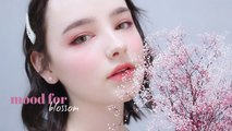 CHERRY BLOSSOM MAKEUP  #3CE Mood For Blossom Spring Collection | Sissel