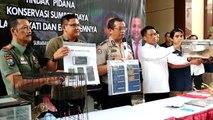 Polisi Berhasil Ringkus 8 Pedagang Hewan Satwa yang Dilindungi