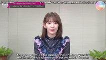 [ENG SUB] 190221 [Mnet Japan] Everyone's Kitchen Promotional Message - Sakura