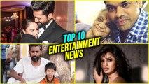 Top 10 | Weekly Wrap | Marathi Entertainment News | Amruta Khanvilkar, Vicky Kaushal |