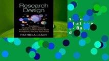 Online Research Design: Quantitative, Qualitative, Mixed Methods, Arts-Based, and Community-Based